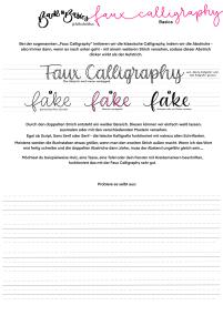 Faux_Calligraphy_-_Basics